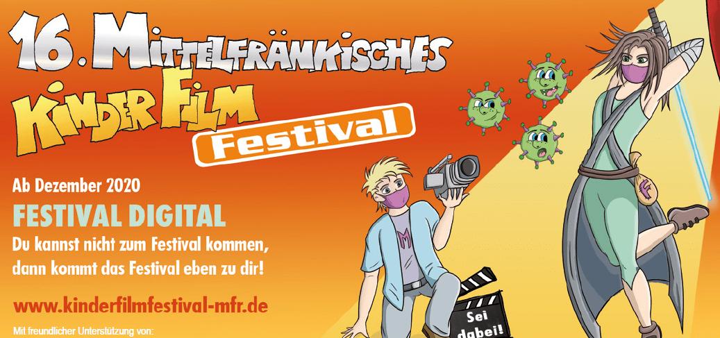 Das Mittelfränkische Kinderfilmfestival kommt nach Hause!